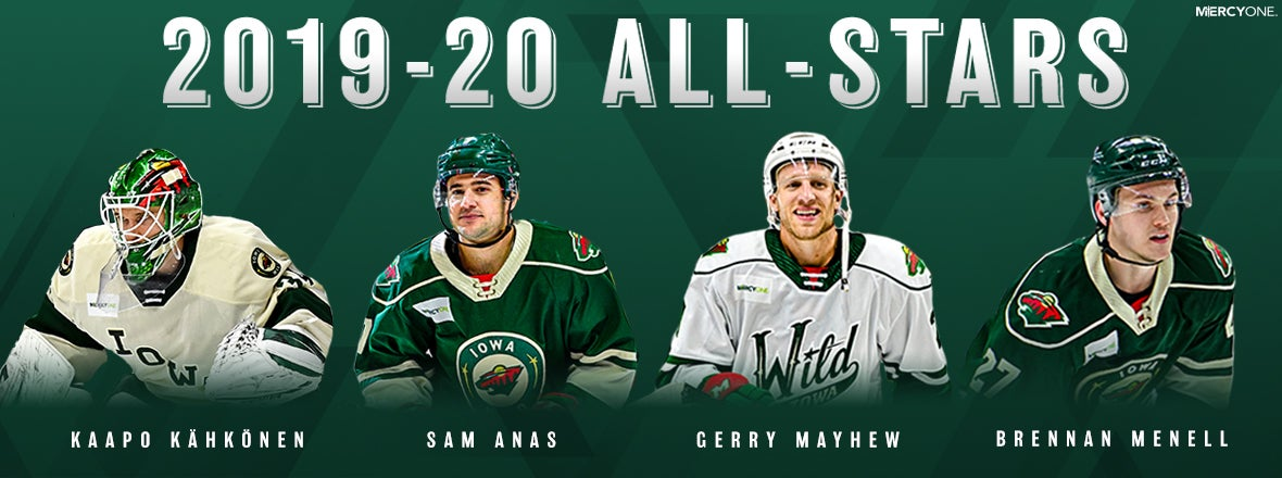 WILD PLAYERS NAMED TO AHL ALL-STAR TEAMS