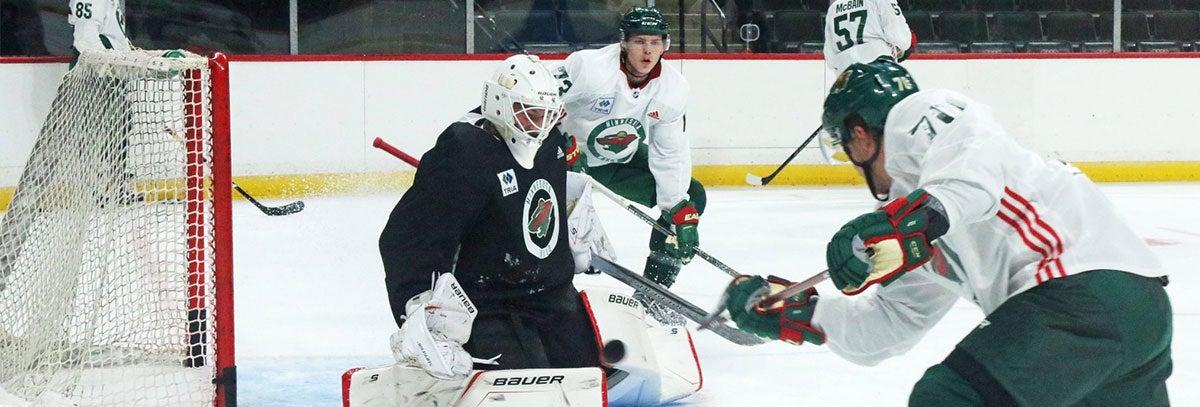 DRAFT PICKS AND PROSPECTS GET TASTE OF NHL AS DEVELOPMENT CAMP BEGINS
