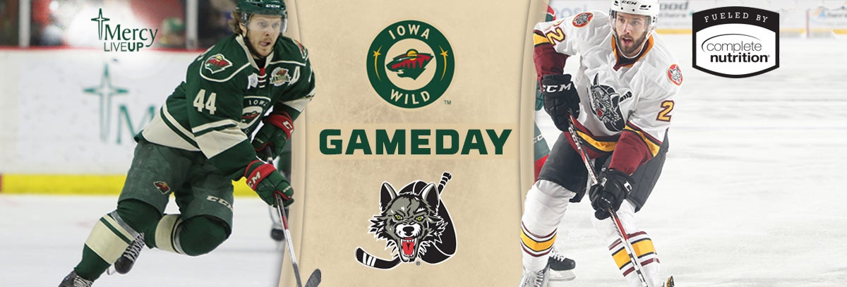 GAME PREVIEW – IOWA WILD VS. CHICAGO WOLVES 1.1.18