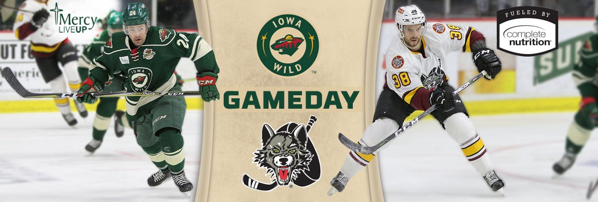 GAME PREVIEW – IOWA WILD VS. CHICAGO WOLVES 1.17.18