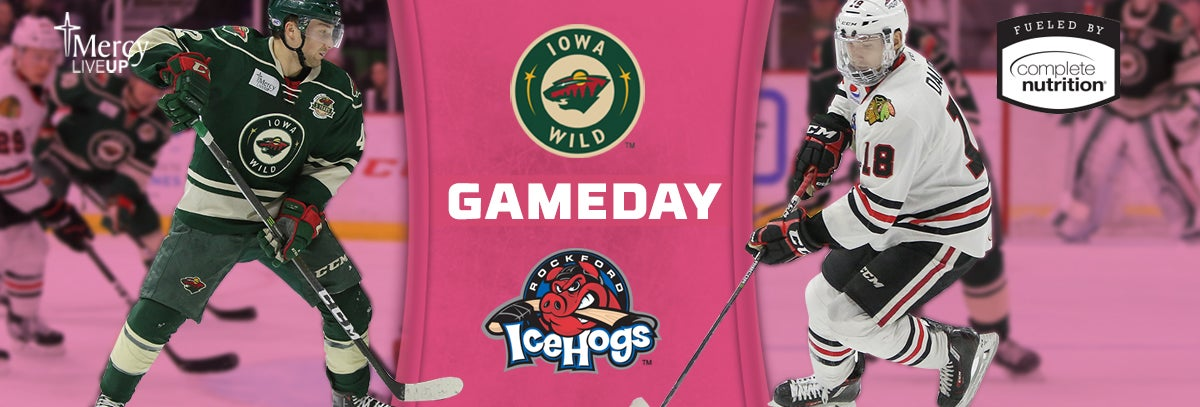 GAME PREVIEW – IOWA WILD VS. ROCKFORD ICEHOGS 2.10.18