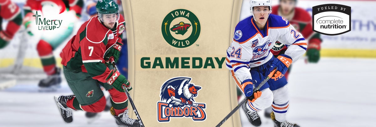 GAME PREVIEW – IOWA WILD AT BAKERSFIELD CONDORS 2.2.18