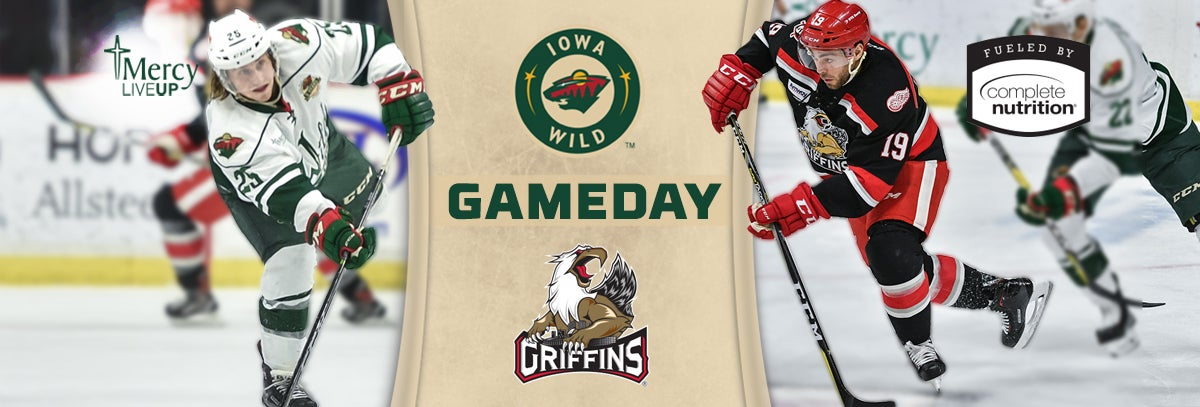 GAME PREVIEW – IOWA WILD AT GRAND RAPIDS GRIFFINS 2.24.18