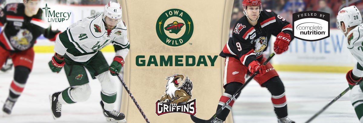 GAME PREVIEW – IOWA WILD AT GRAND RAPIDS GRIFFINS 2.25.18