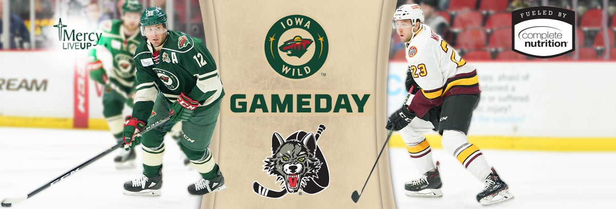 GAME PREVIEW – IOWA WILD VS. CHICAGO WOLVES 2.9.18