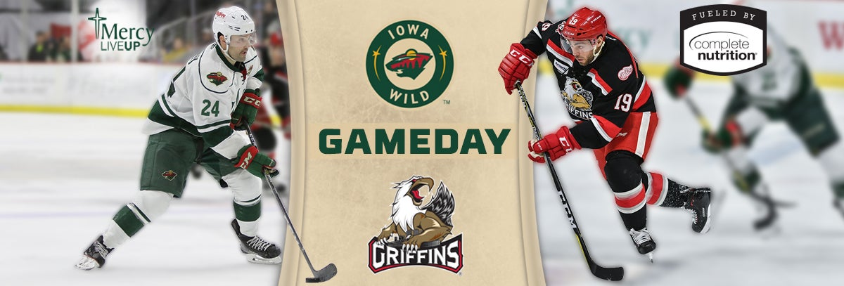 GAME PREVIEW – IOWA WILD AT GRAND RAPIDS GRIFFINS 3.14.18
