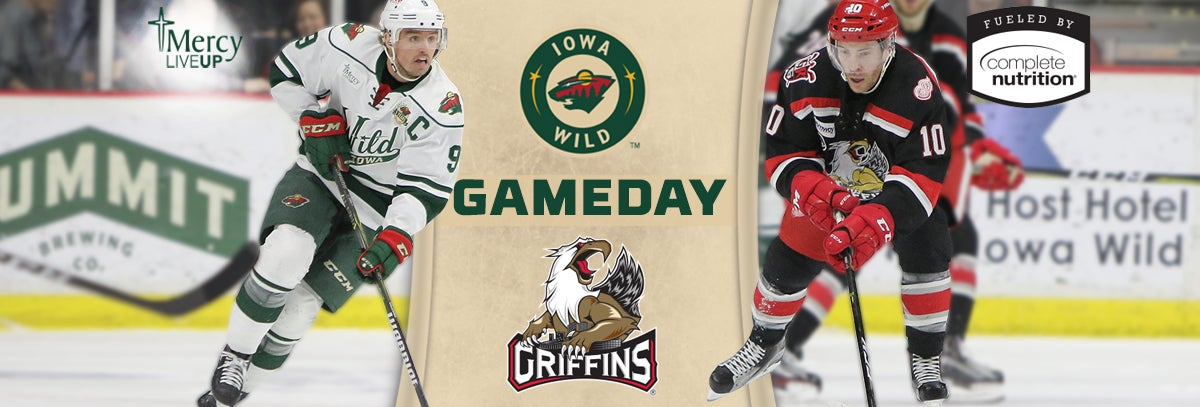 GAME PREVIEW – IOWA WILD VS. GRAND RAPIDS GRIFFINS 3.24.18
