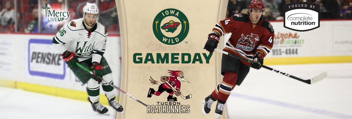 GAME PREVIEW – IOWA WILD VS. TUCSON ROADRUNNERS 3.31.18