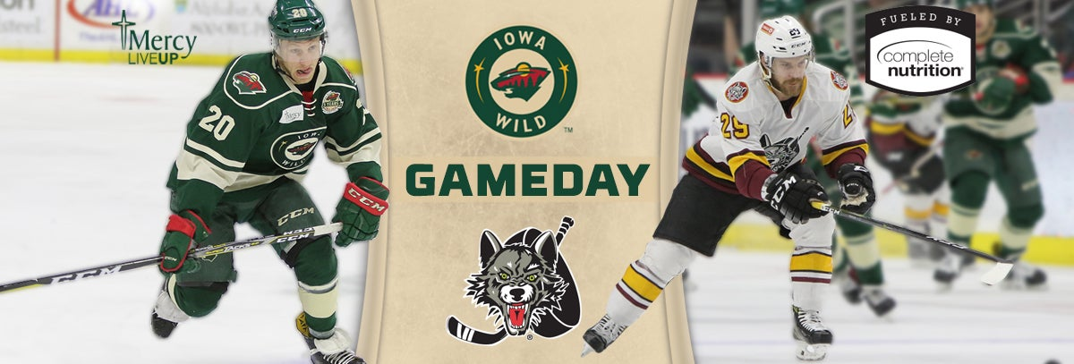 GAME PREVIEW – IOWA WILD VS. CHICAGO WOLVES 4.6.18
