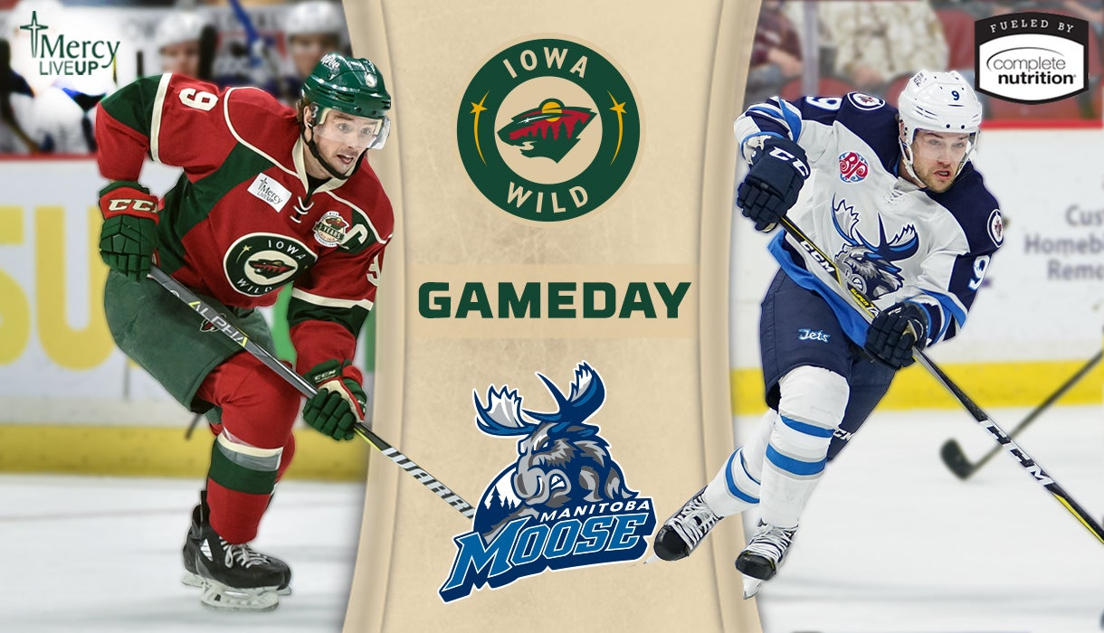 GAME PREVIEW – IOWA WILD AT MANITOBA MOOSE 3.3.18