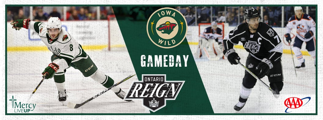 GAME PREVIEW – IOWA WILD VS. ONTARIO REIGN