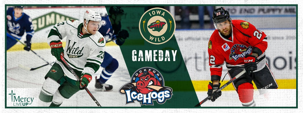GAME PREVIEW – IOWA WILD VS. ROCKFORD ICEHOGS - 11.4.18