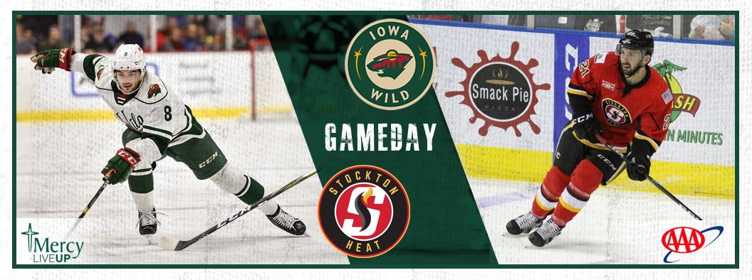 GAME PREVIEW – IOWA WILD VS. STOCKTON HEAT