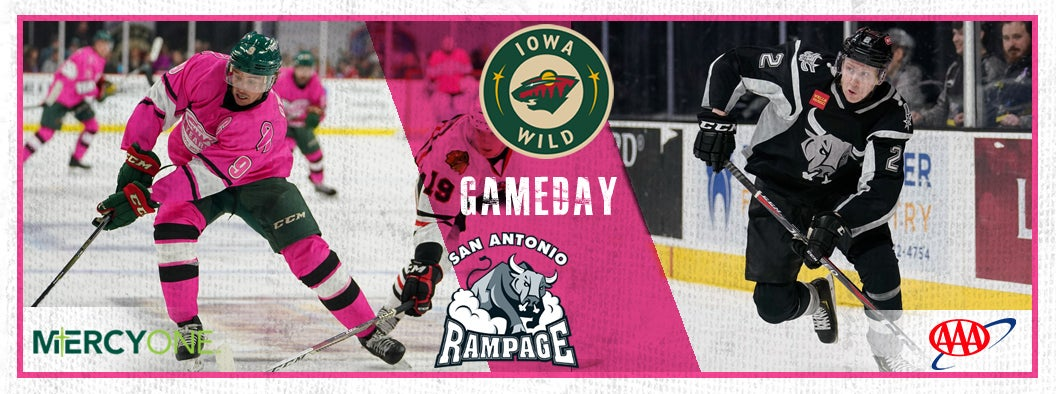 GAME PREVIEW – IOWA WILD VS. SAN ANTONIO RAMPAGE