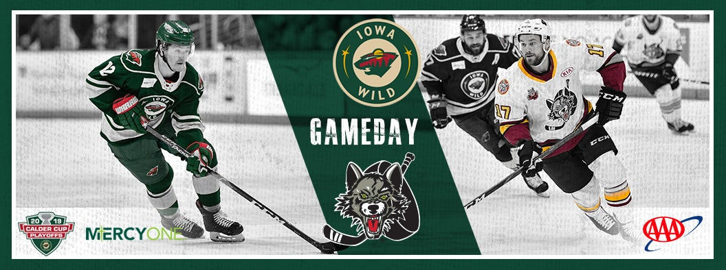 CENTRAL DIVISION FINAL, GAME 5 PREVIEW - IOWA WILD VS. CHICAGO WOLVES
