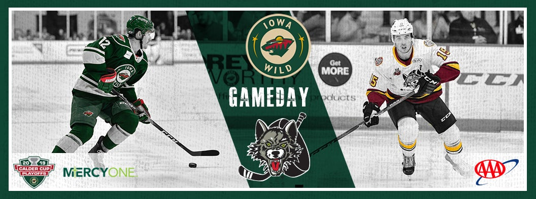 CENTRAL DIVISION FINAL, GAME 2 PREVIEW - IOWA WILD AT CHICAGO WOLVES