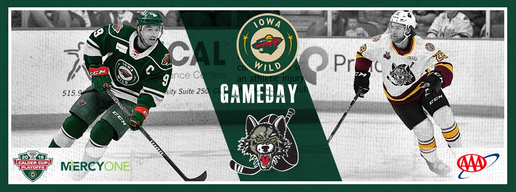 CENTRAL DIVISION FINAL, GAME 3 PREVIEW - IOWA WILD VS. CHICAGO WOLVES