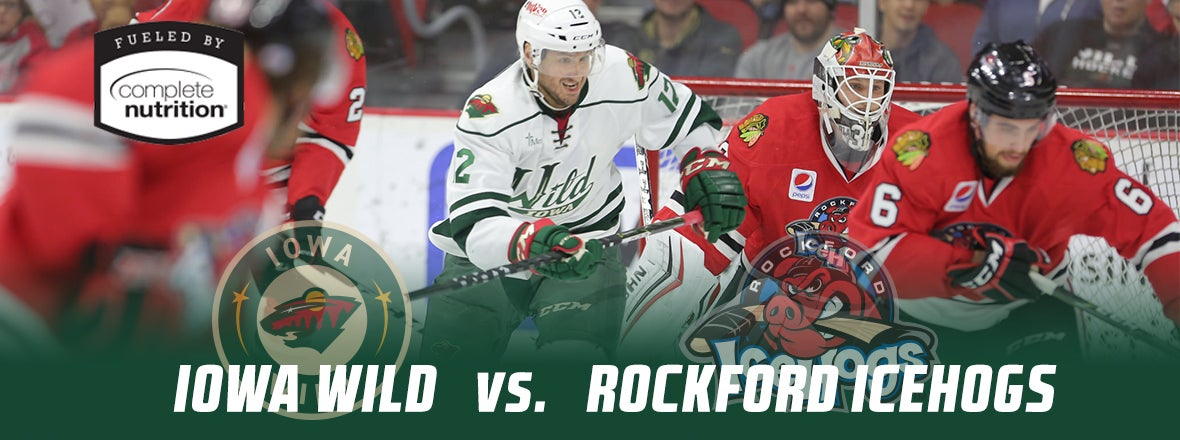 GAME PREVIEW - ROCKFORD AT IOWA 10.25.17
