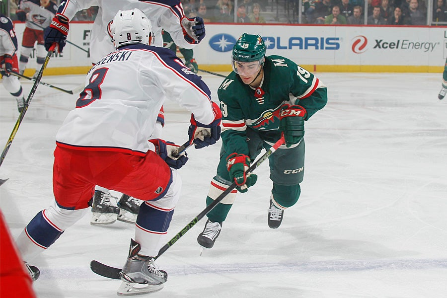 MINNESOTA WILD RECALLS FORWARD LUKE KUNIN