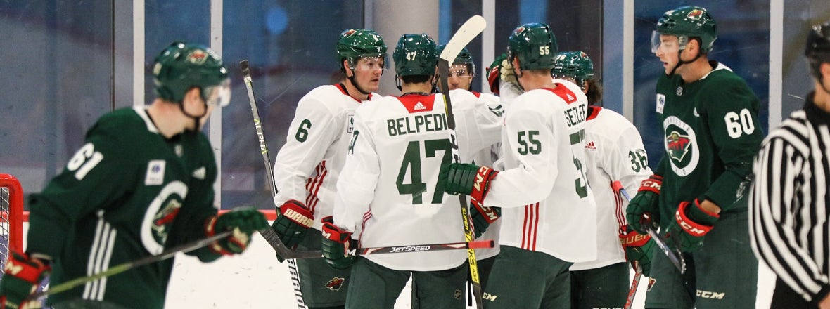 MINNESOTA WILD PLAYERS TO SKATE AT TRIA RINK STARTING WEDNESDAY