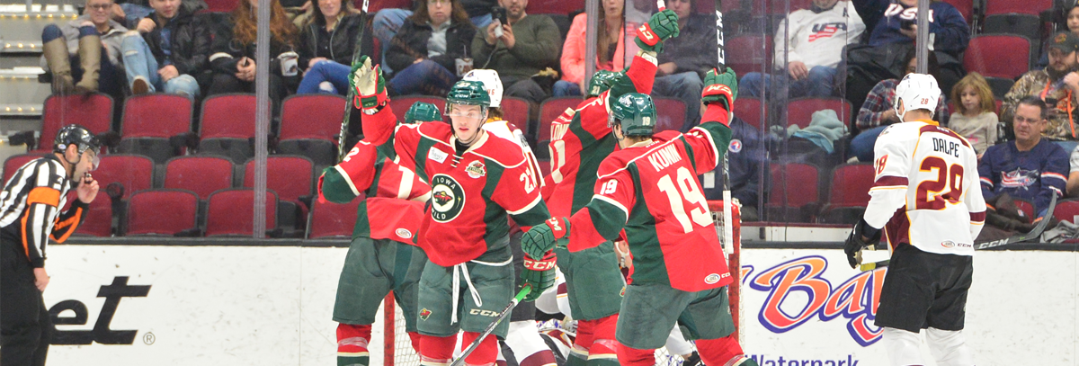 MOTTE EARNS FIRST AHL SHUTOUT IN IOWA'S 3-0 WIN OVER MONSTERS