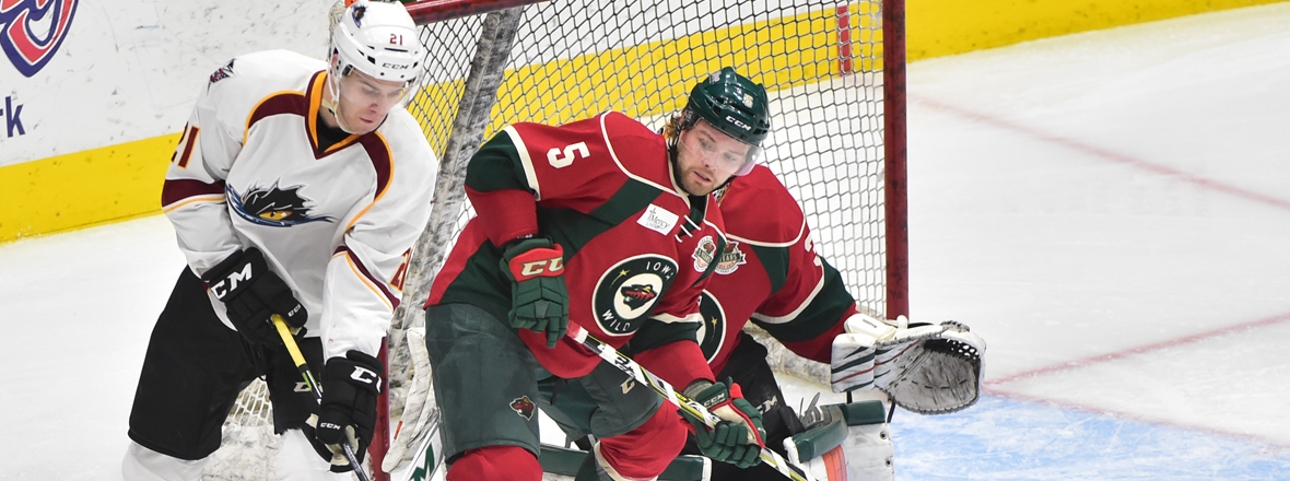 WILD FALLS 5-4 IN OVERTIME TO MONSTERS