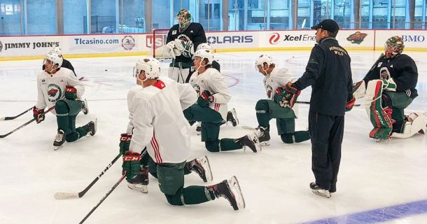 MINNESOTA WILD ANNOUNCES TRAINING CAMP ROSTER