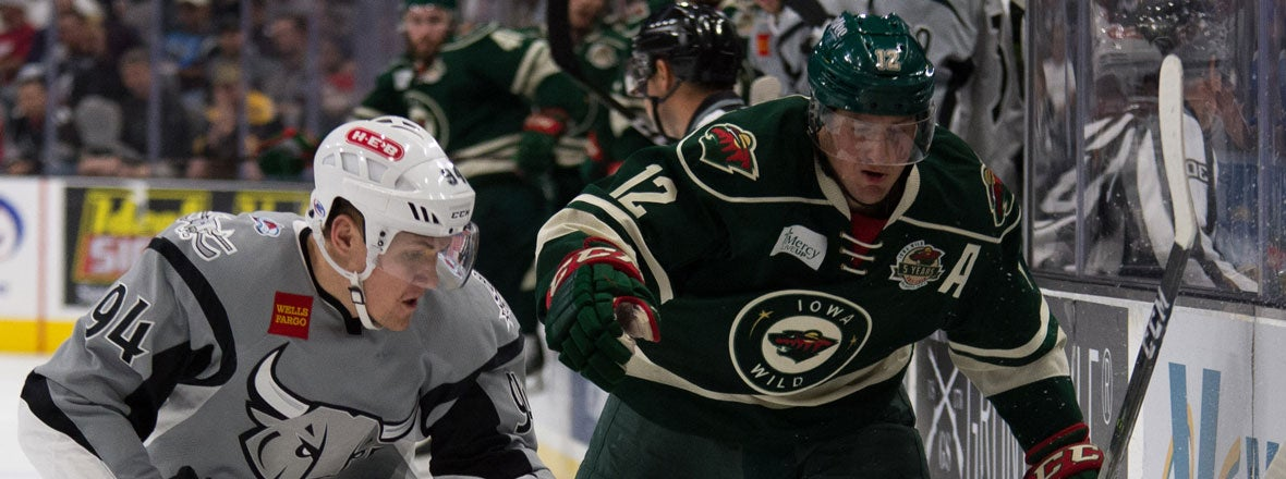 WILD FALLS TO RAMPAGE 4-3 IN OT
