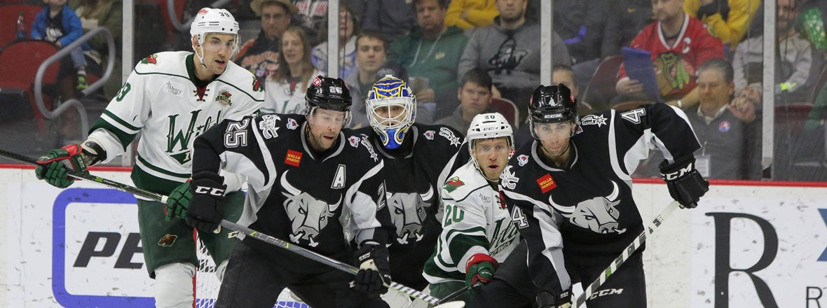 RAMPAGE SPLITS SERIES WITH 4-2 WIN