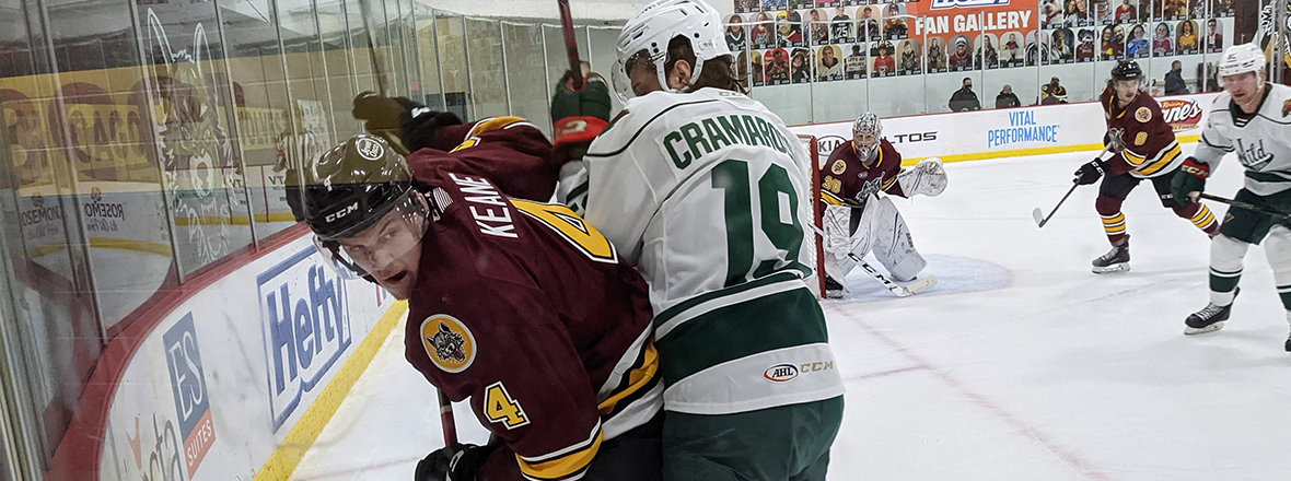 IOWA DROPS SUNDAY MATCHUP WITH CHICAGO 4-1