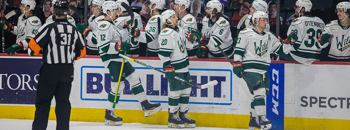 WILD CLIP GRIFFINS IN OVERTIME 4-3