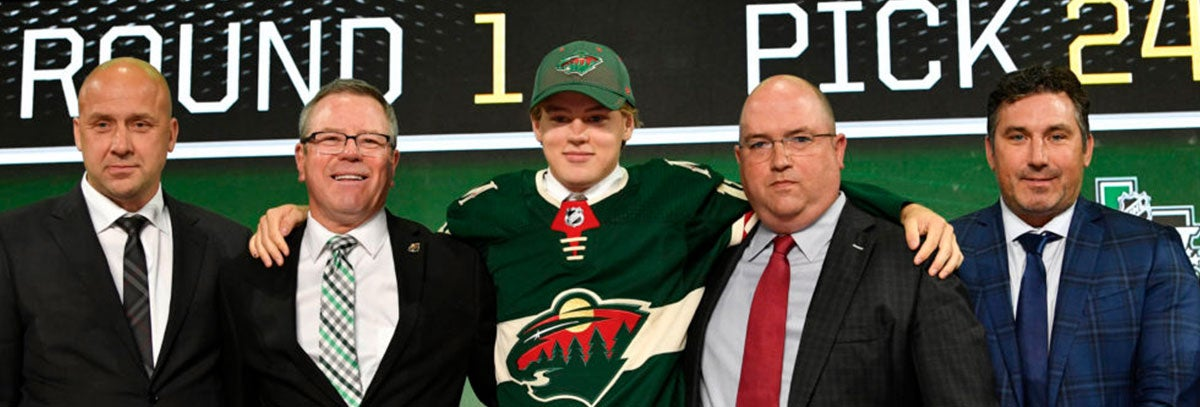 MINNESOTA WILD DRAFTS EIGHT PLAYERS IN 2018 NHL ENTRY DRAFT