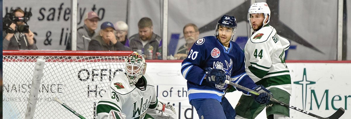 DEFENSEMAN MATT BARTKOWSKI KEEPING EYES ON NHL WHILE BEING VET PRESENCE WITH IOWA