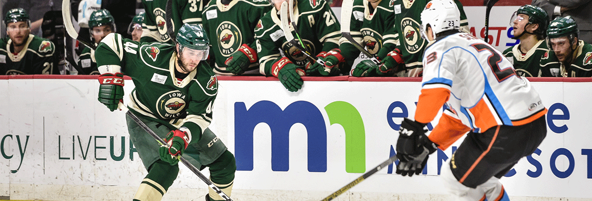 MINNESOTA WILD RE-SIGNS MATT BARTKOWSKI TO ONE-YEAR, TWO-WAY CONTRACT