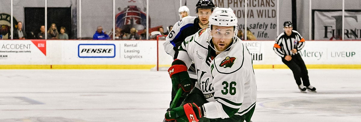 MINNESOTA WILD INKS COLTON BECK TO TWO-YEAR, TWO-WAY CONTRACT