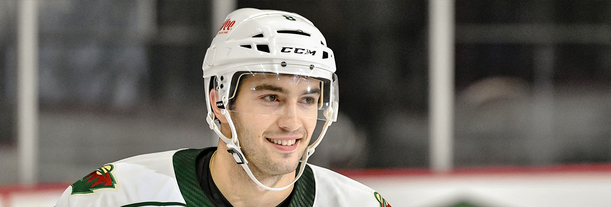 MINNESOTA WILD RE-SIGNS DEFENSEMAN LOUIE BELPEDIO TO A ONE-YEAR, TWO-WAY CONTRACT