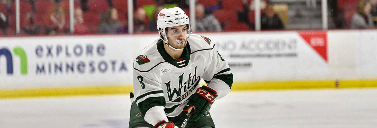 MINNESOTA WILD RECALLS DEFENSEMAN LOUIE BELPEDIO