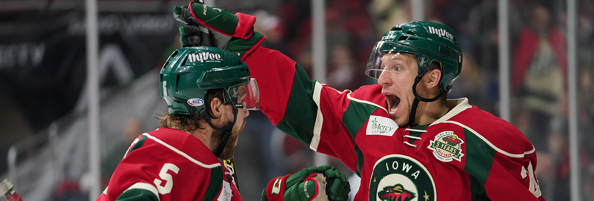 IOWA WILD SIGNS FORWARDS GERRY MAYHEW, GERRY FITZGERALD TO AHL CONTRACTS