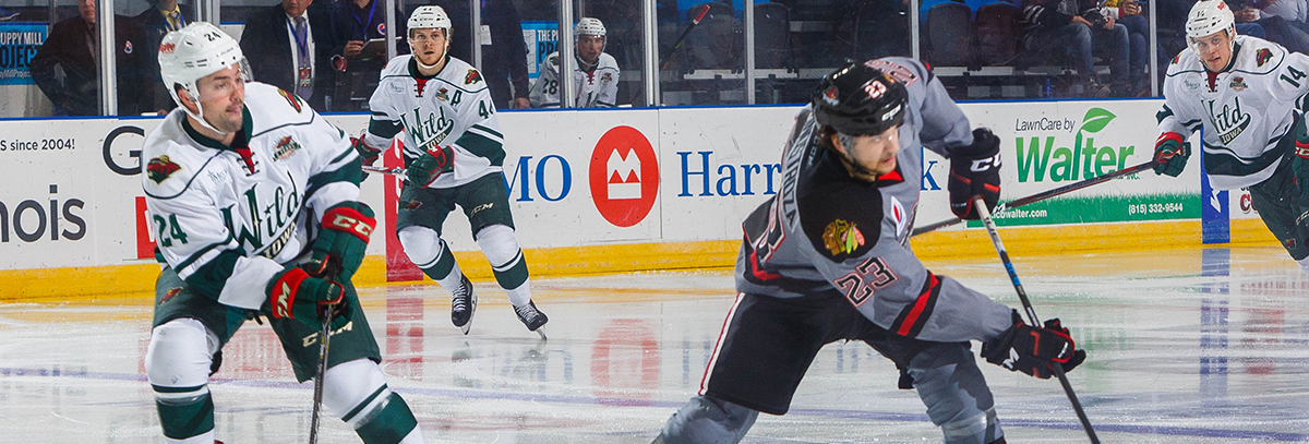 GAME PREVIEW – IOWA WILD AT ROCKFORD ICEHOGS 12.29.17