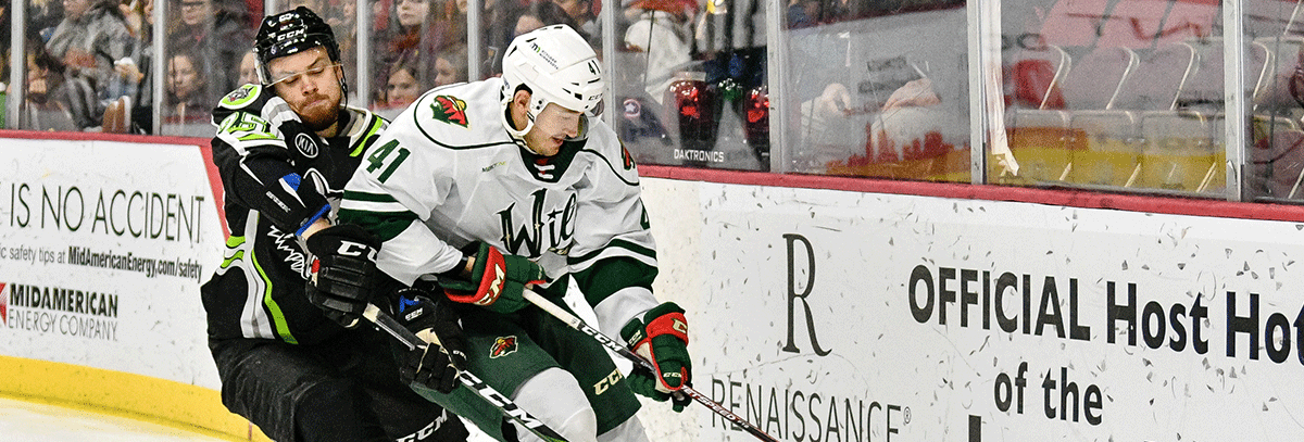WILD FALL TO CHICAGO 3-0