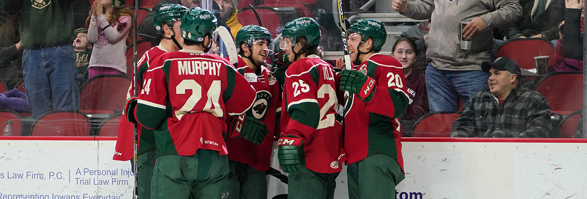 WILD KICKS OFF HOMESTAND WITH 4-1 VICTORY AGAINST CHICAGO
