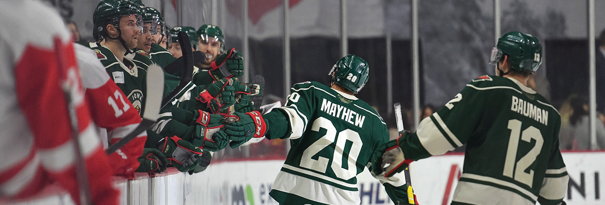 IOWA EARNS 4-2 VICTORY AGAINST GRAND RAPIDS