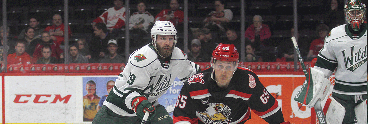 IOWA ENDS ROAD TRIP WITH 4-1 LOSS TO GRAND RAPIDS