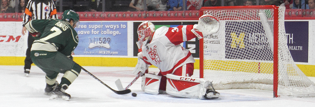 IOWA EARNS POINT IN 3-2 SHOOTOUT LOSS TO GRAND RAPIDS