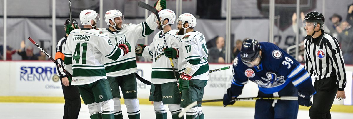 IOWA WILD WINS FIRST HOME OPENER SINCE 2013 WITH 4-1 VICTORY