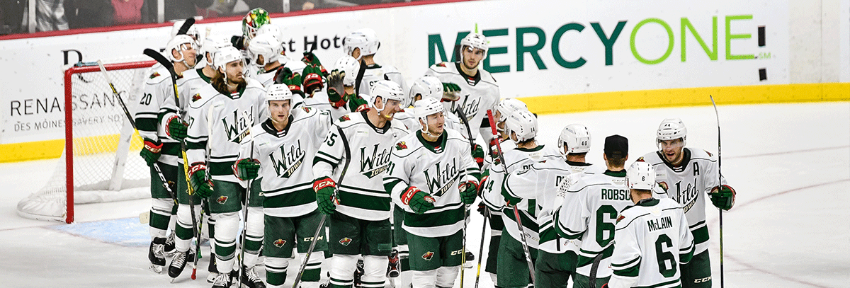 WILD SINK ADMIRALS SUNDAY AFTERNOON IN 5-2 WIN