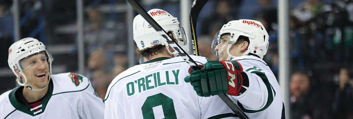 SPECIAL TEAMS GUIDE WILD TO 5-4 WIN AGAINST ONTARIO