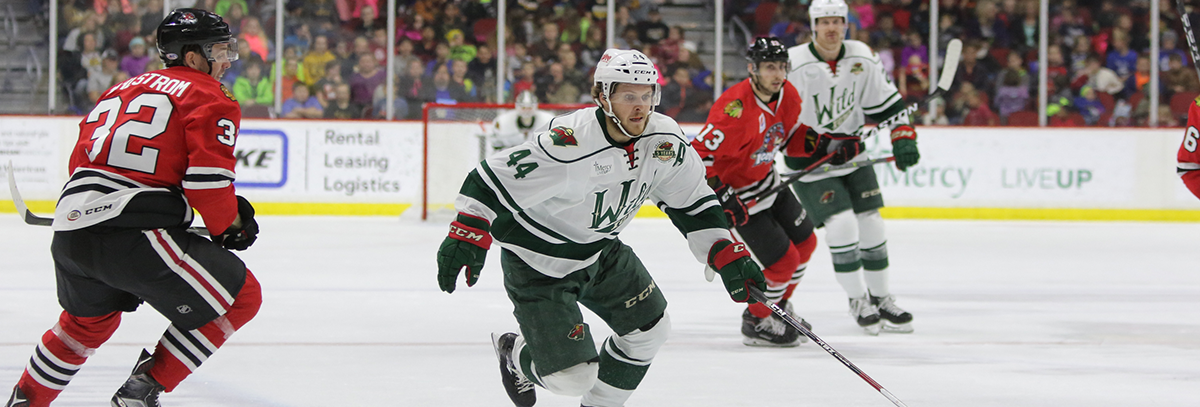 GAME PREVIEW – IOWA WILD VS ROCKFORD ICEHOGS 12.28.17