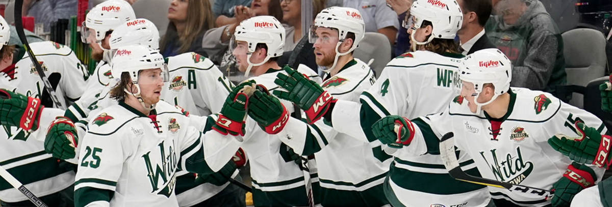 WILD FORWARD JUSTIN KLOOS SETS ROOKIE RECORD FOR POINTS IN 4-3 SHOOTOUT LOSS TO SAN ANTONIO