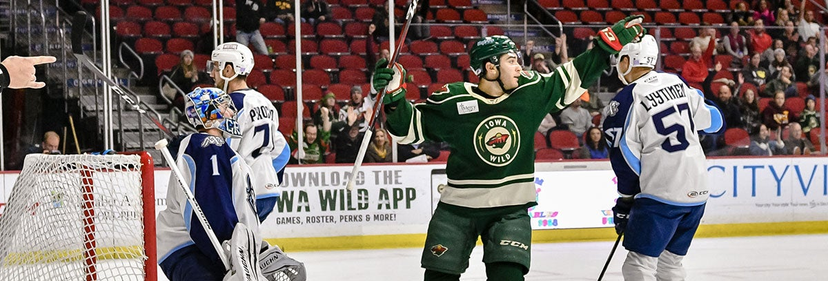 MINNESOTA WILD ANNOUNCES ROSTER MOVES